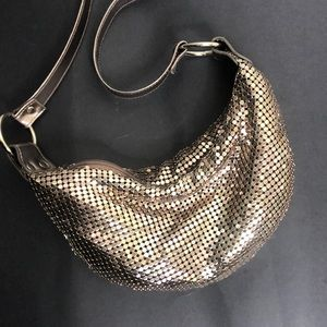 Fashion Express rose gold shimmer purse